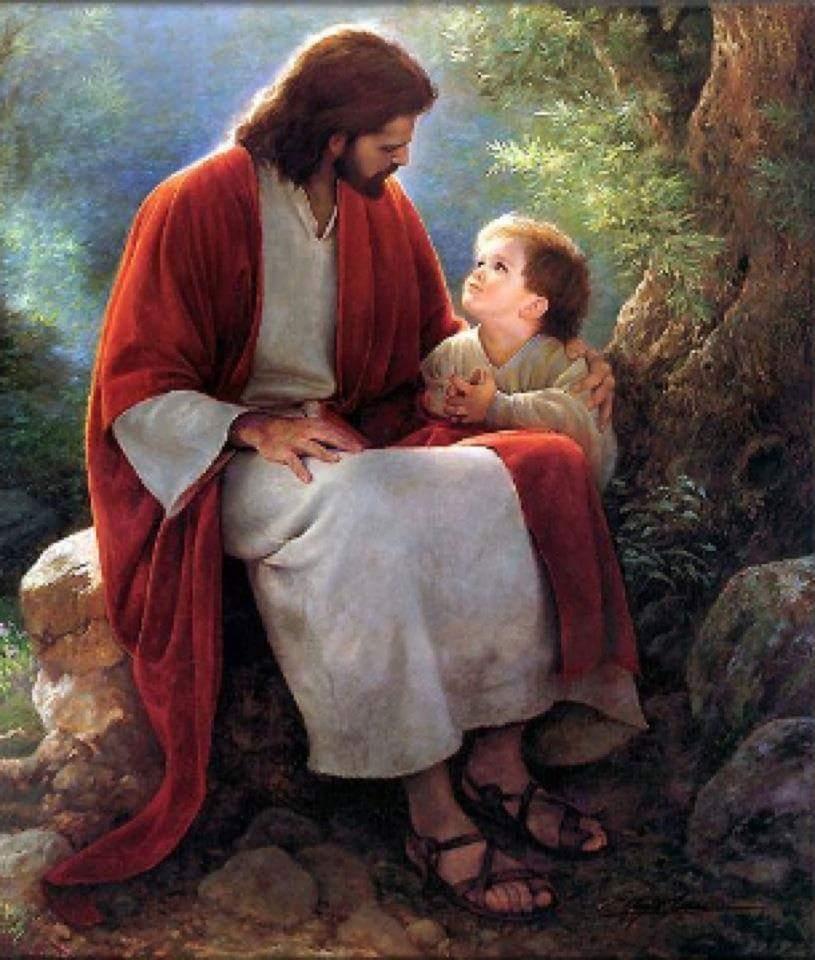 Iisus i rebenok