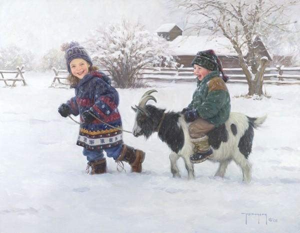 Роберт Дункан Дети играют