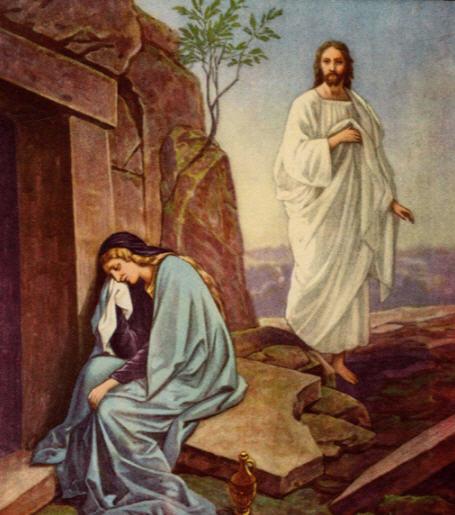 Khristos Voskrese i Mariya