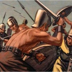 Saul i ego lyudi byli nedaleko ot Filistimlyan
