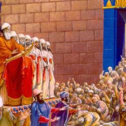 Saul ubivaet svyashchennikov Gospodnikh