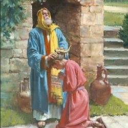 pomazanie Davida na tsarstvo