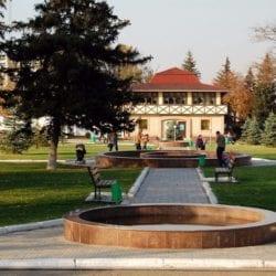 vesenniy park v Almaty