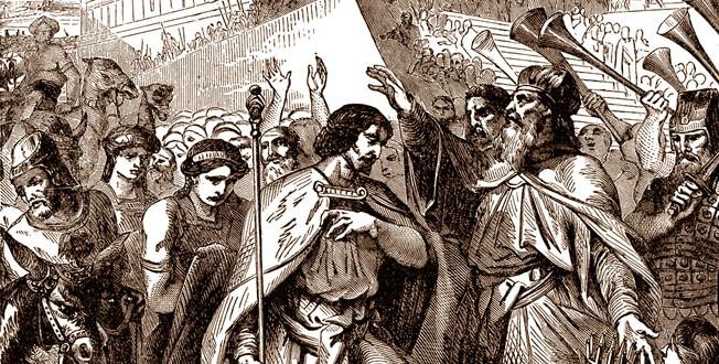 Bunt Adonii i votsarenie Solomona