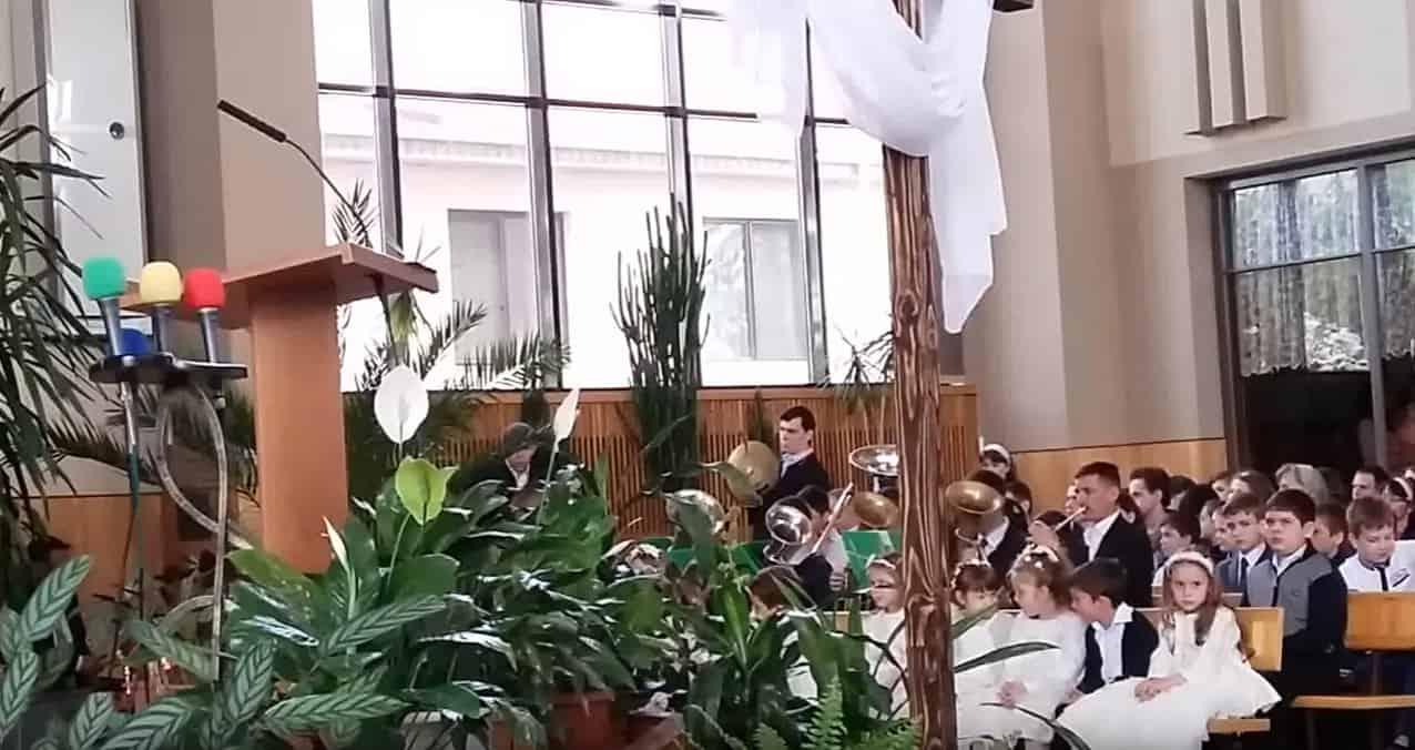 Slavu ostaviv Neba k nam Iisus prishel Paskha 2016