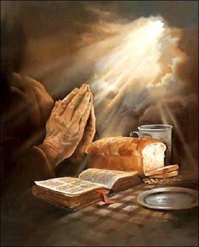 Молитва и чтение Библии