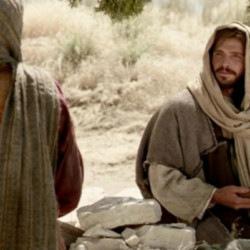 Samaryanka ne osoznaet eshche, chto eto i imenno On i est' Messiya