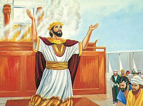 my tozhe kak Solomon mozhem prosit Gospoda