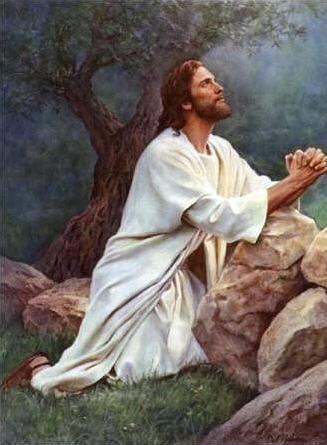 Iisus molitsya Ottsu