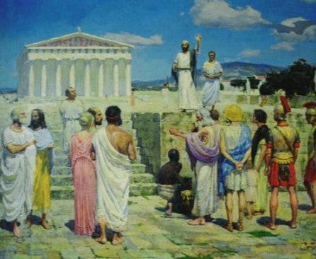 Pavel v Afinakh