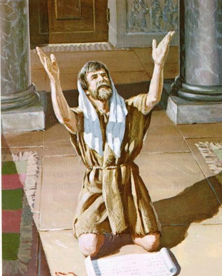 I vzyal Ezekiya pismo