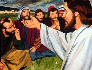 Iisus govorit uchenikam