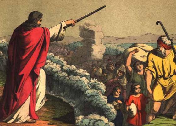 Chudesa pri sluzhenii Moiseya