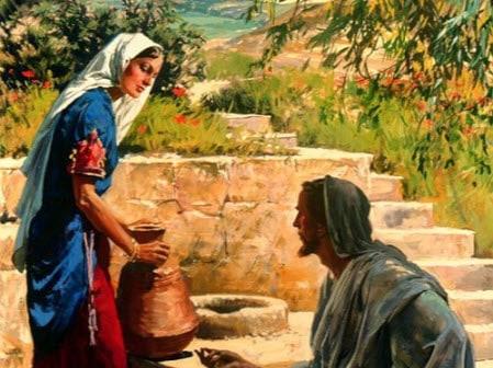 Iisus govorit Moya pishcha tvorit volyu Ottsa