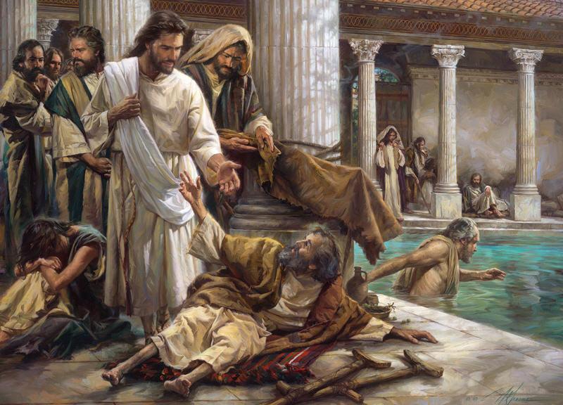 Prikosnovenie lyubvi Iisusa vsegda istselyaet