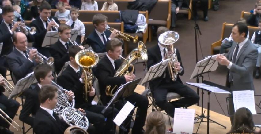 WREBC Rozhdestvo orkestr