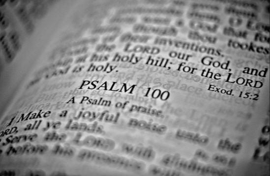 Psalom 100