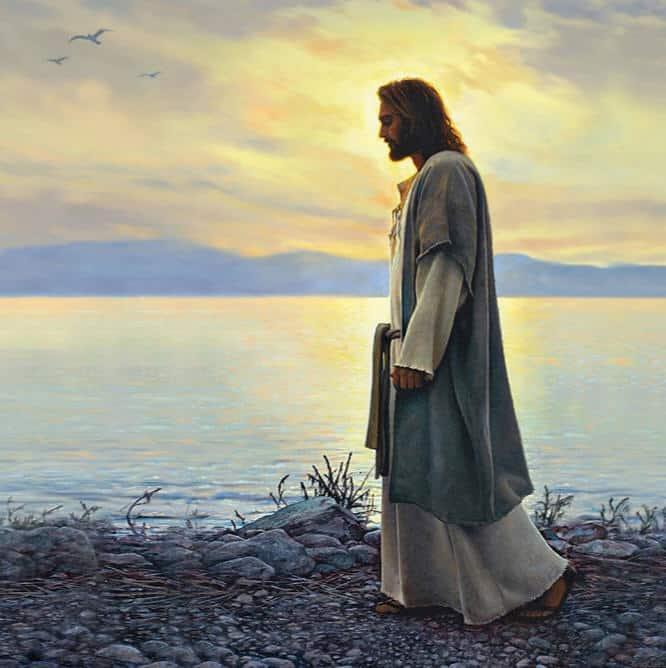 Iisus govorit Ya est svet miru