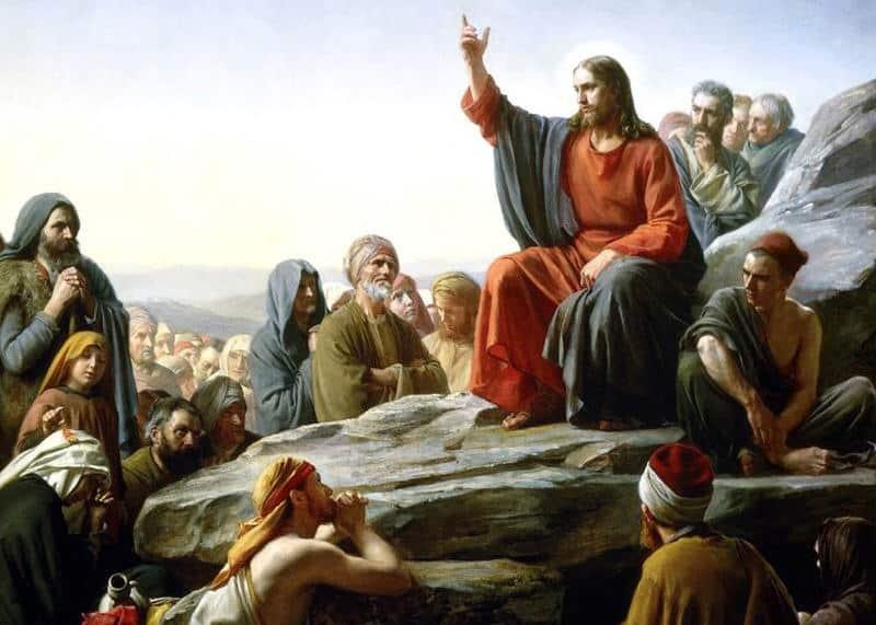 Iisus prizyvaet k osvyashcheniyu