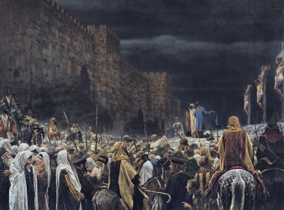 V devyatom chasu vozopil Iisus