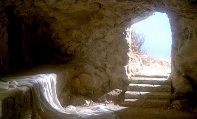 pustoy grob svideteli pobedy Iisusa