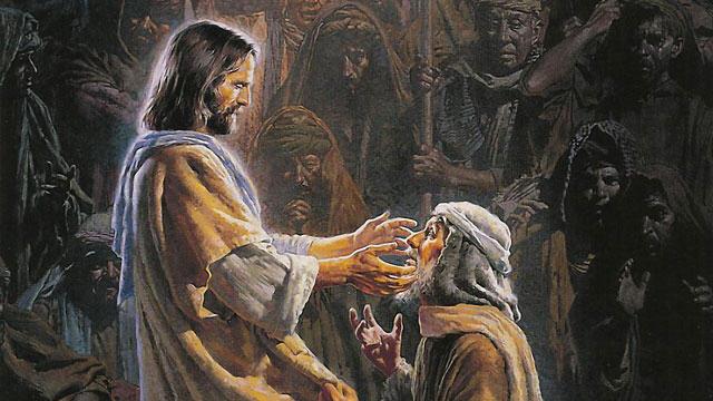 Iisus istselil slepogo