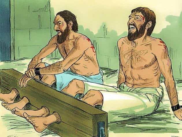 Pavel i Sila slavili Boga