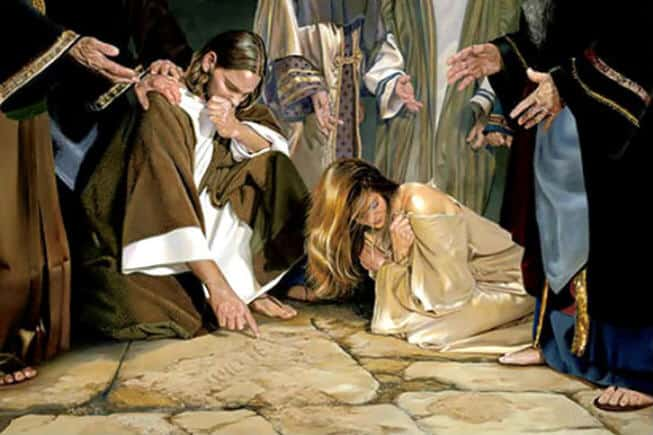 Gospod Iisus opravdyvaet