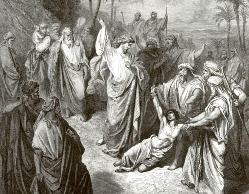 Iisus istselyaet nemogo