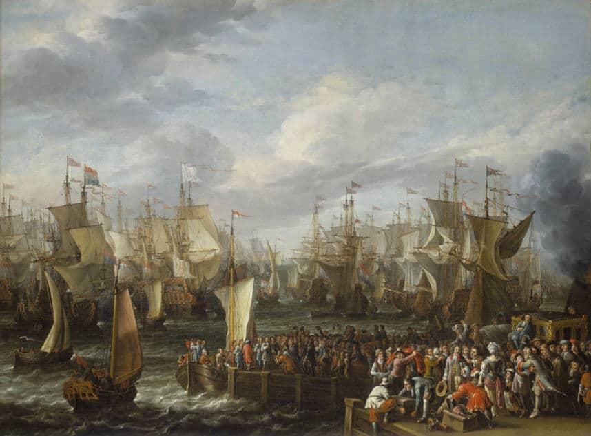 Vilgelma III v Torbee v 1688