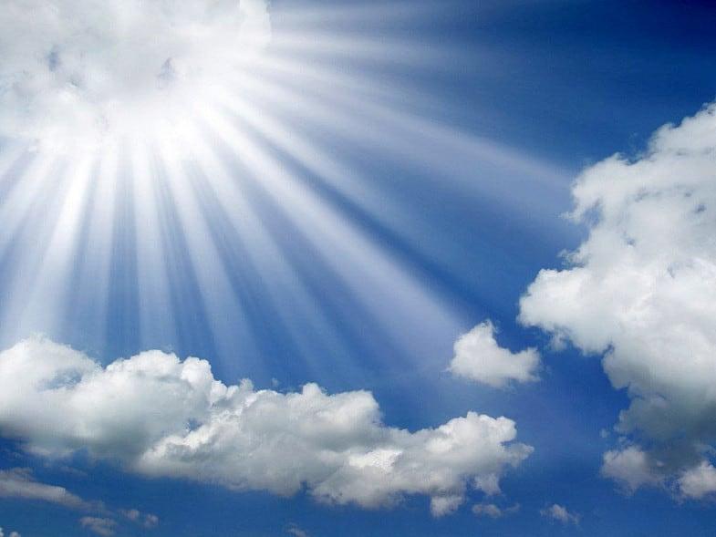 prestol Khrista na Nebe