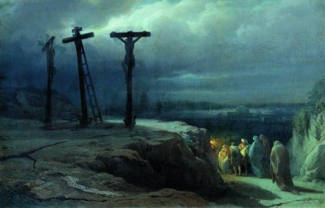 Golgofa Iisus Spasitel