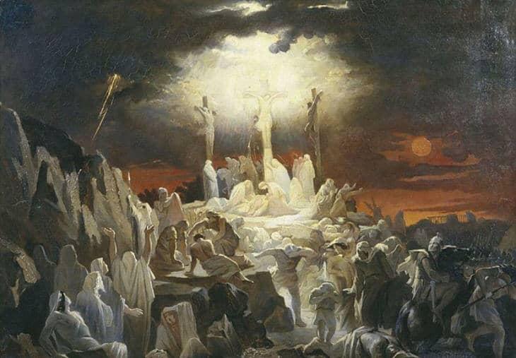 Iisus na Golgofe