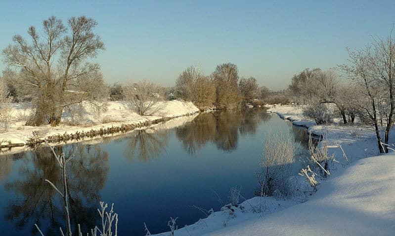 zima i reka