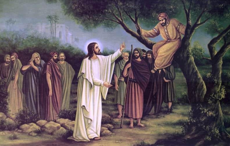 Zakkhey i Iisus