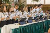 Оркестр Колокольчиков на 90 лет Церкви Альфа и Омега