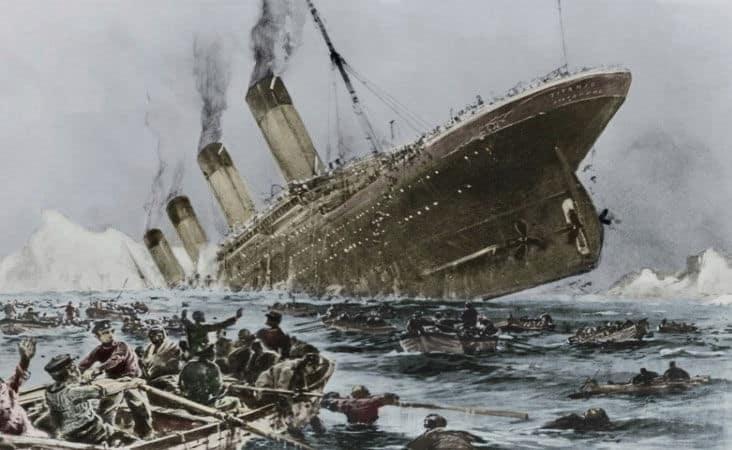 gibel Titanika